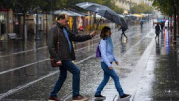 Israel: Regen, Blitz und Donner [Video]