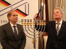 Bundespr�sident Gauck und Botschafter Hadas-Handelsman er�ffnen das Jubil�umsjahr 2015