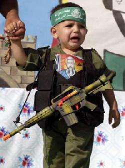 �Kinder sind keine Soldaten!